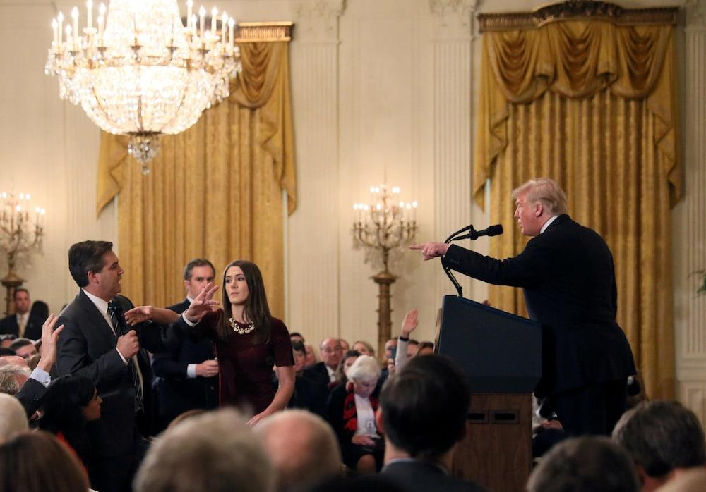 Fox News unterstützt CNN im Kampf gegen Weisses Haus