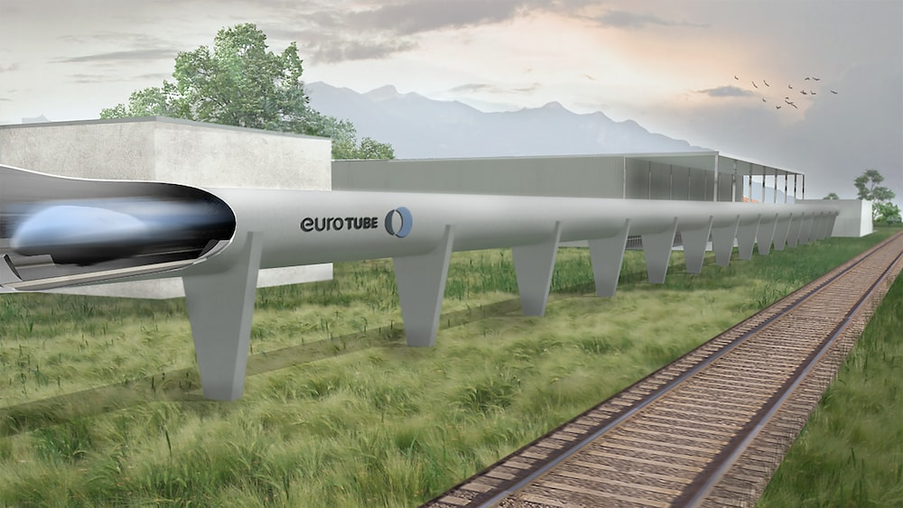 SBB planen 900 km/h-Hyperloop-Strecke im Wallis
