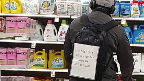 Mann sucht niere für frau
