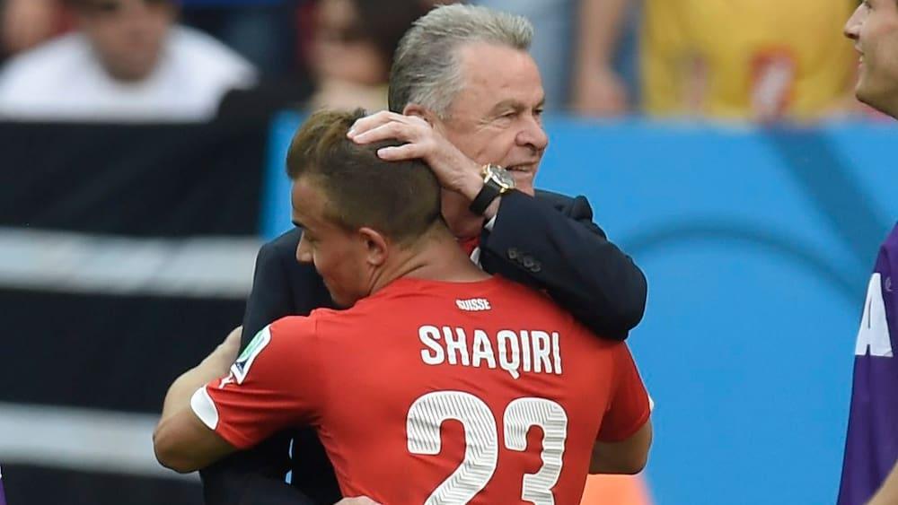 Ottmar Hitzfeld Uber Die Liverpool Zukunft Von Xherdan Shaqiri