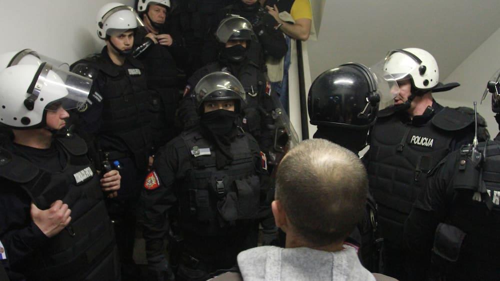 Massive Proteste in Serbien – Blick
