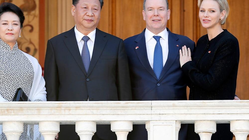 China-Monaco-Chinas-Pr-sident-Xi-Jinping-von-Monacos-F-rst-Albert-II-empfangen