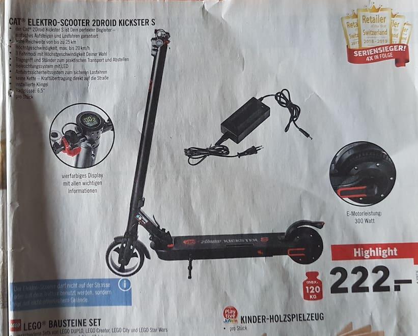 Fehlende Elektro Scooter Bei Lidl Sorgen Für Unruhe Blick
