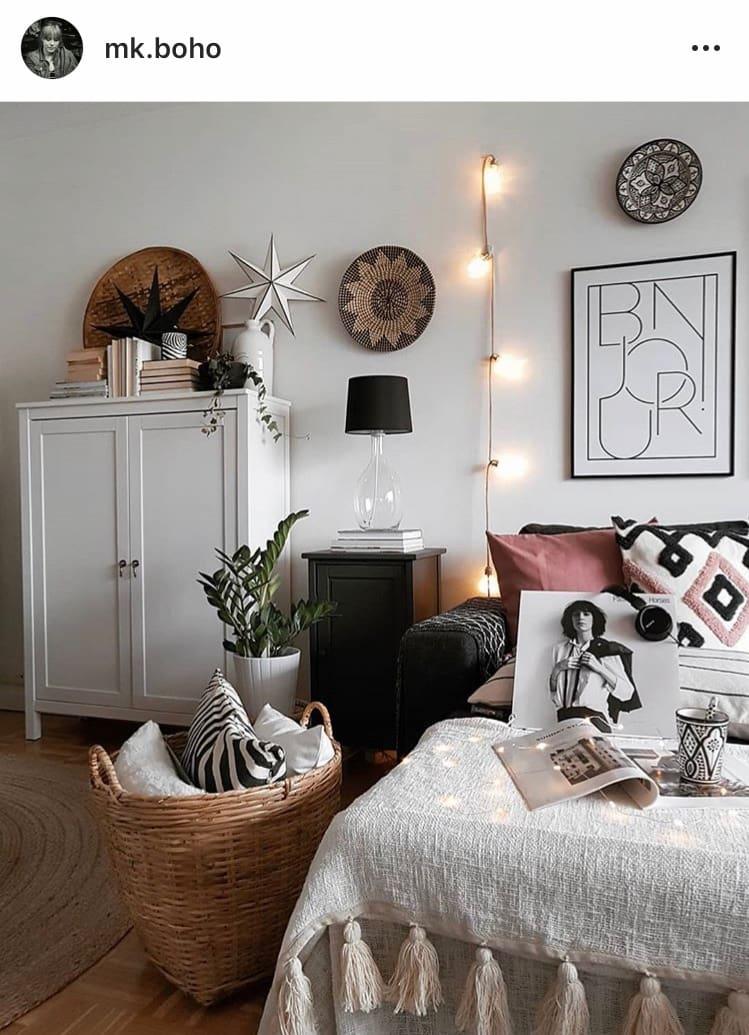 So richten Sie Ihre Wohnung im Boho-Stil ein - Blick