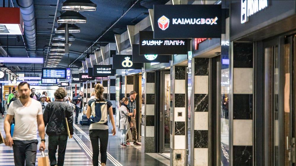 Die Shopping-Bahnhöfe der SBB werden mit Musik beschallt