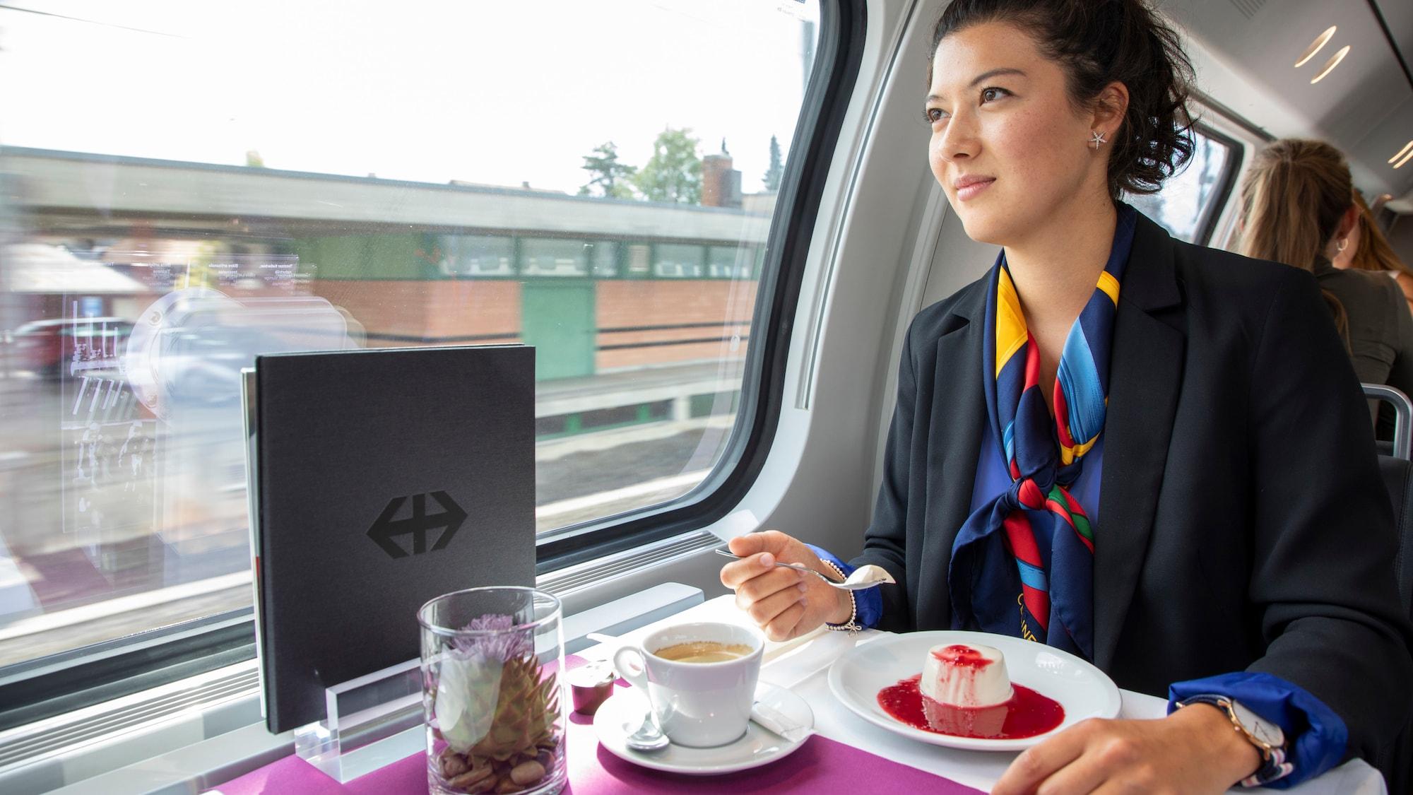 SBB wechseln Speisewagen-Karte aus: Jetzt gibts im Zug ein «Tête-à-Tête»-Menü