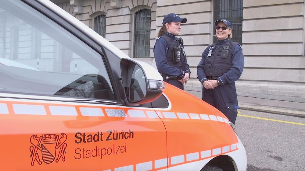 Auspuff oder Jungschwan? Stadtpolizei Zürich muss ausrücken