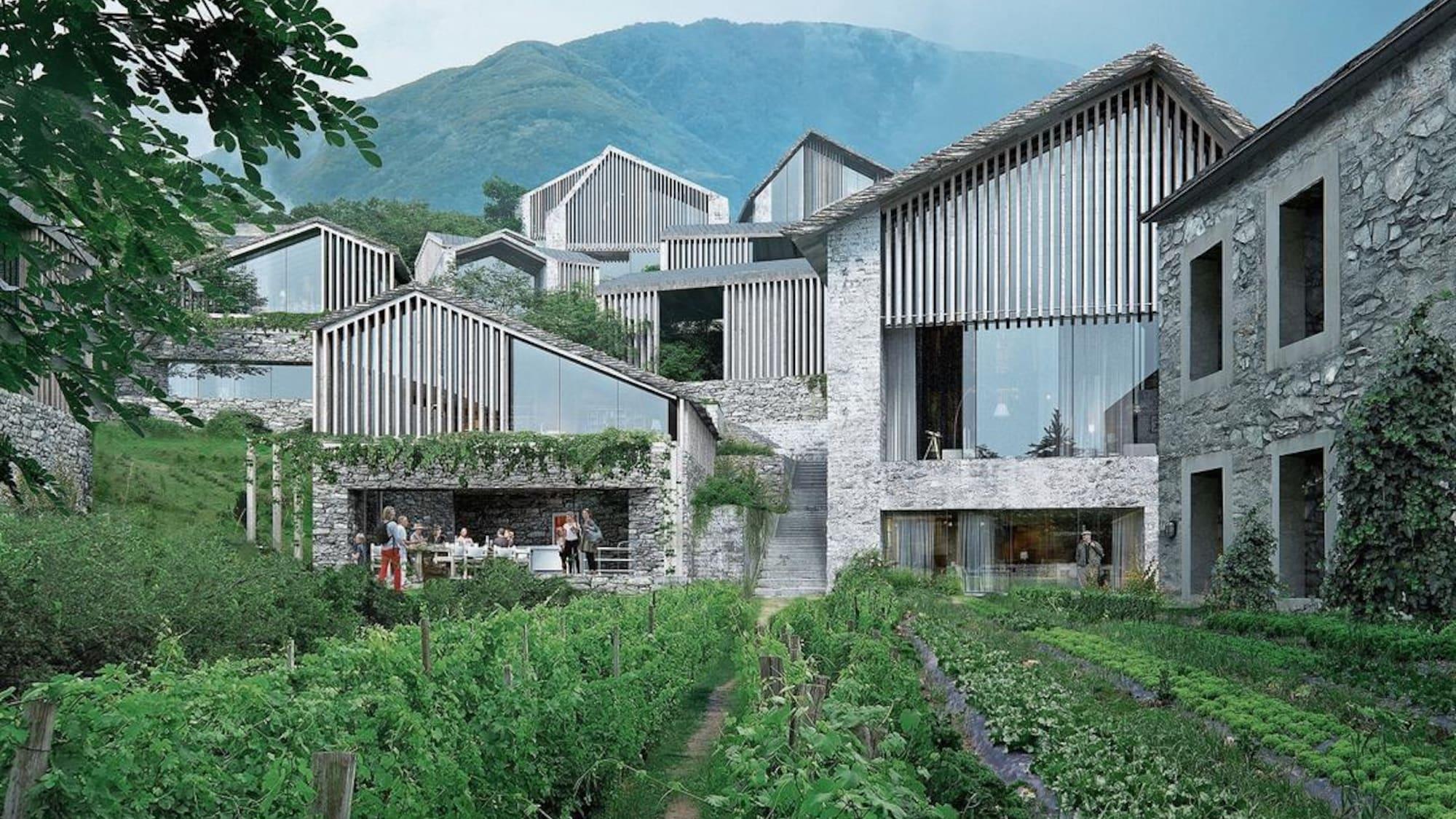 Zoff um geplantes Luxus-Resort in Monte Brè: Planer versprechen «authentisches Tessiner Bergdorf»