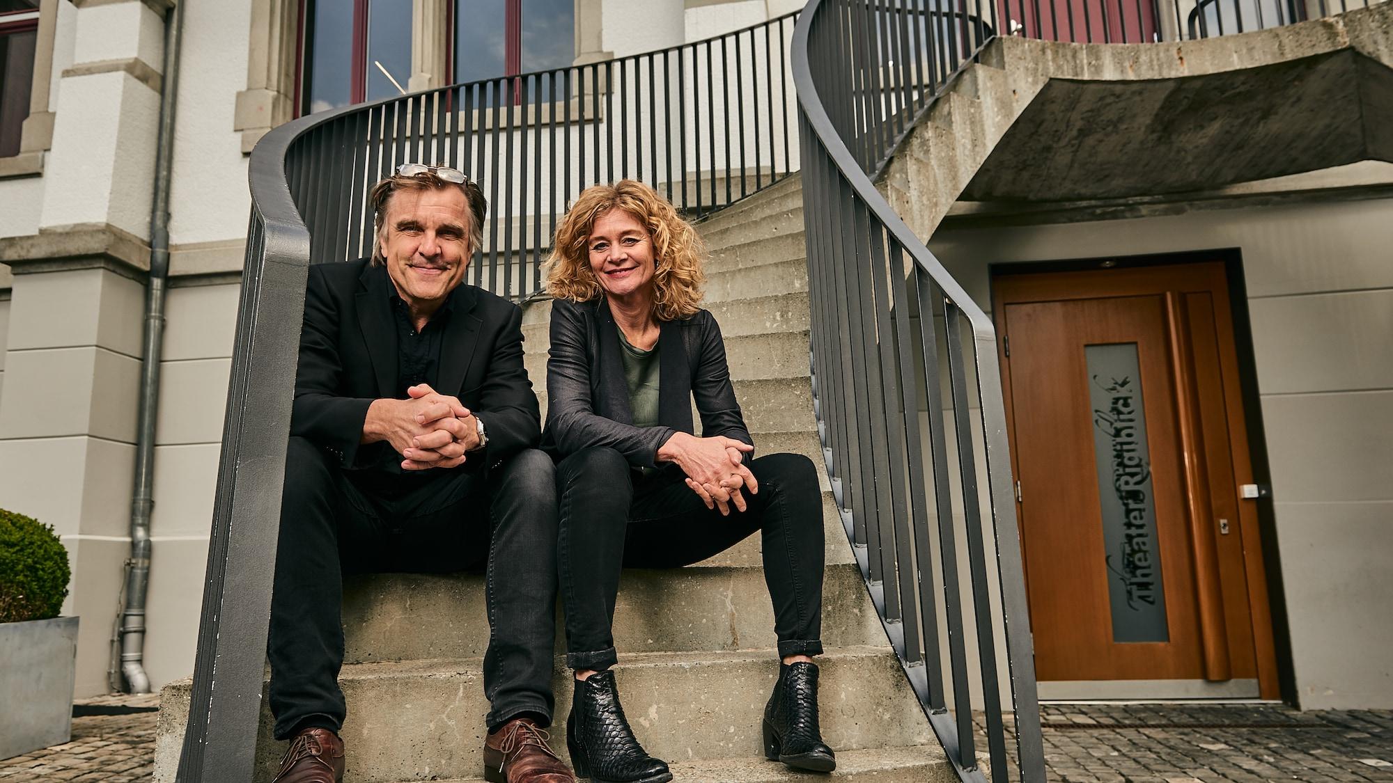 Für Hanna Scheuring und Daniel Rohr ist Liebe Arbeit: «Wir teilen Bett und Bühne»