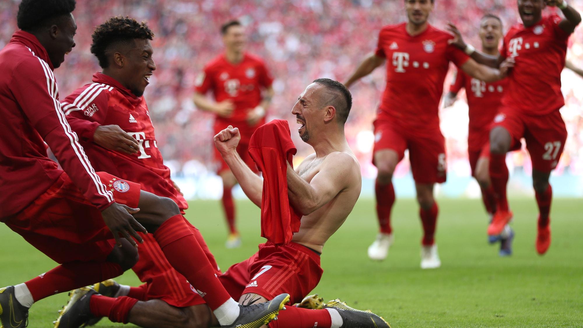 Bayern ist Meister, bleibt Kovac?: Joker Ribéry und Robben feiern Traumabschied