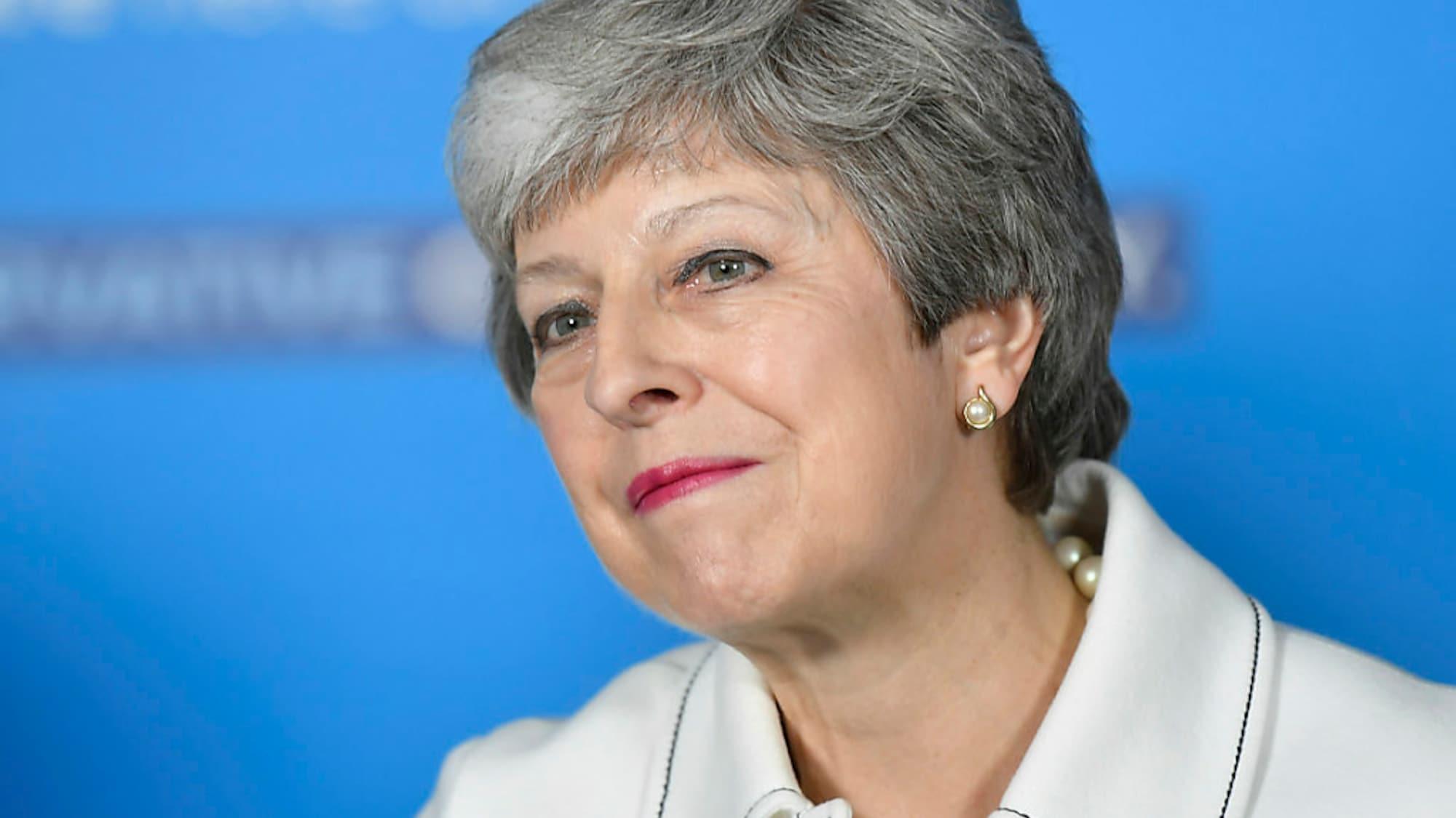 Brexit: Britische Regierungschefin verspricht «kühnes» neues Brexit-Paket