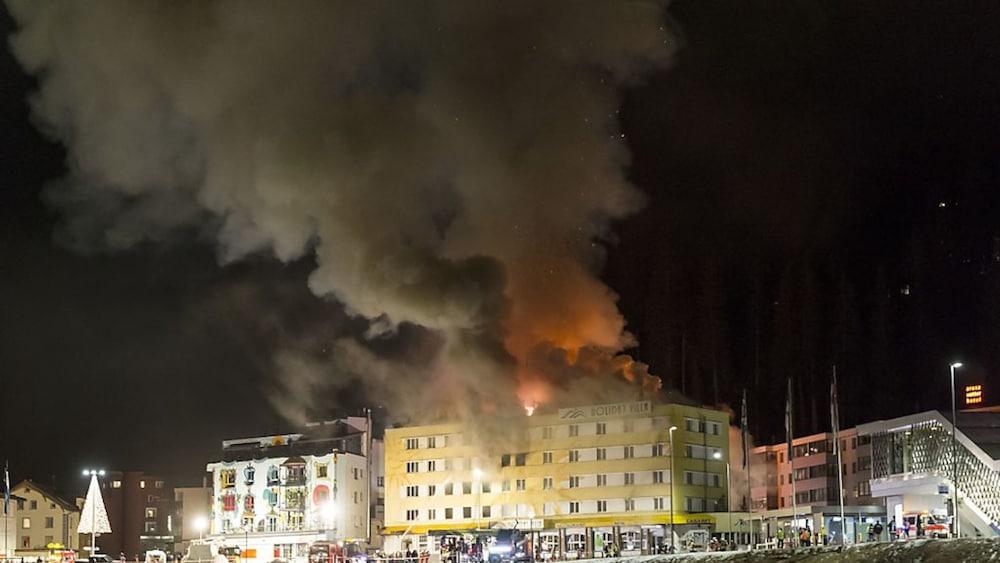Brand: Keine Ermittlungen mehr: Zweitgrösster Bündner Hotelbrand ungeklärt