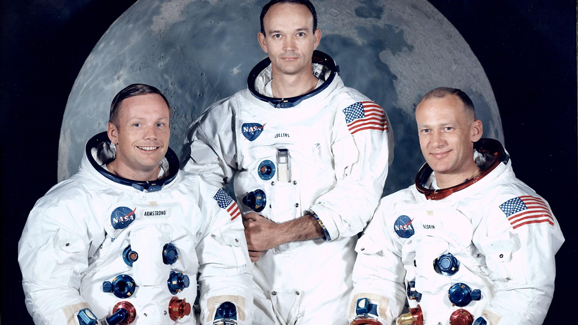 50 Jahre Mondlandung: Armstrong, Aldrin und Collins: Die ersten drei Menschen auf dem Mond