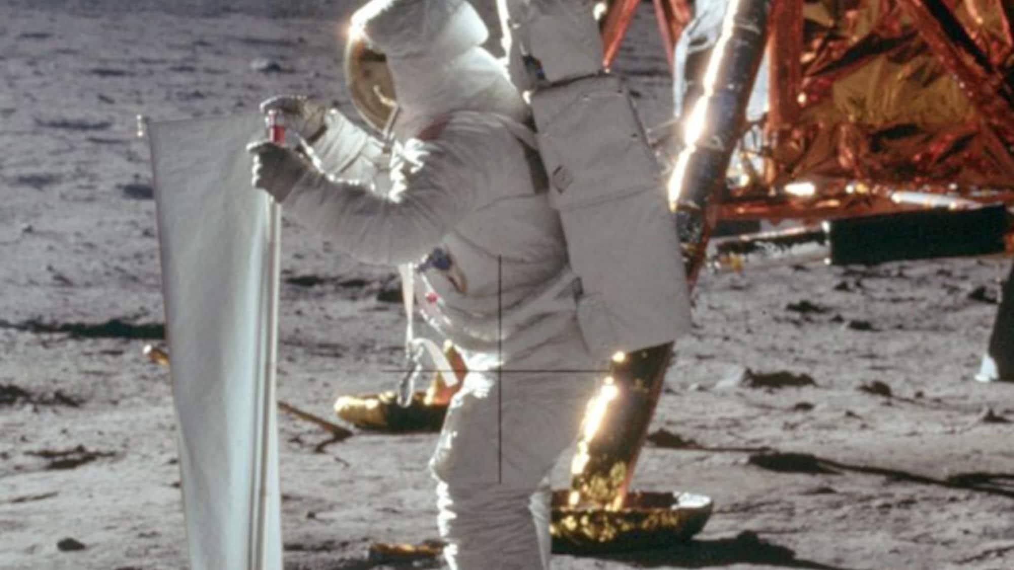 Berner Sonnensegel schlägt Ami-Flagge: So viel Schweiz steckt in der Mondlandung
