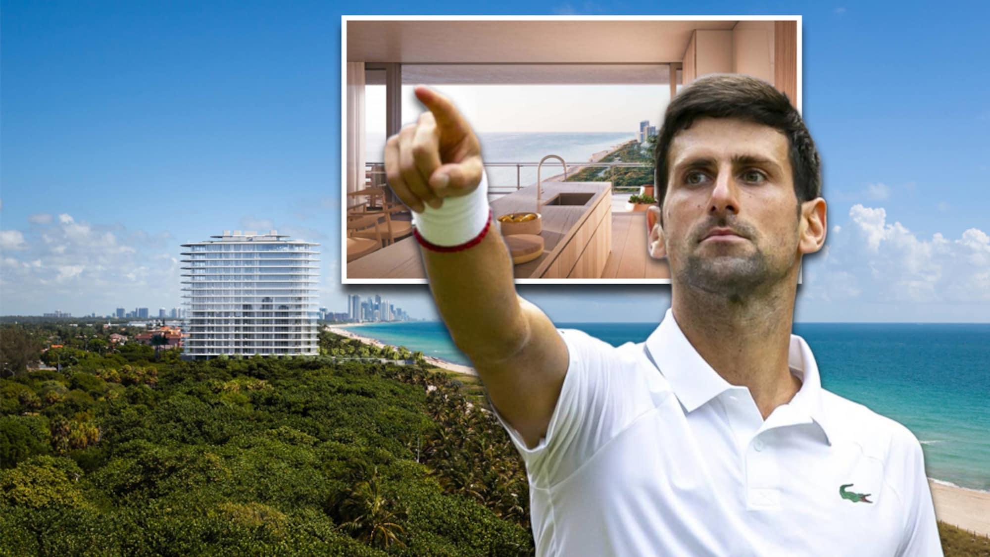 Neue Bleibe für Wimbledon-Champion: So luxuriös wohnt Djokovic in Miami