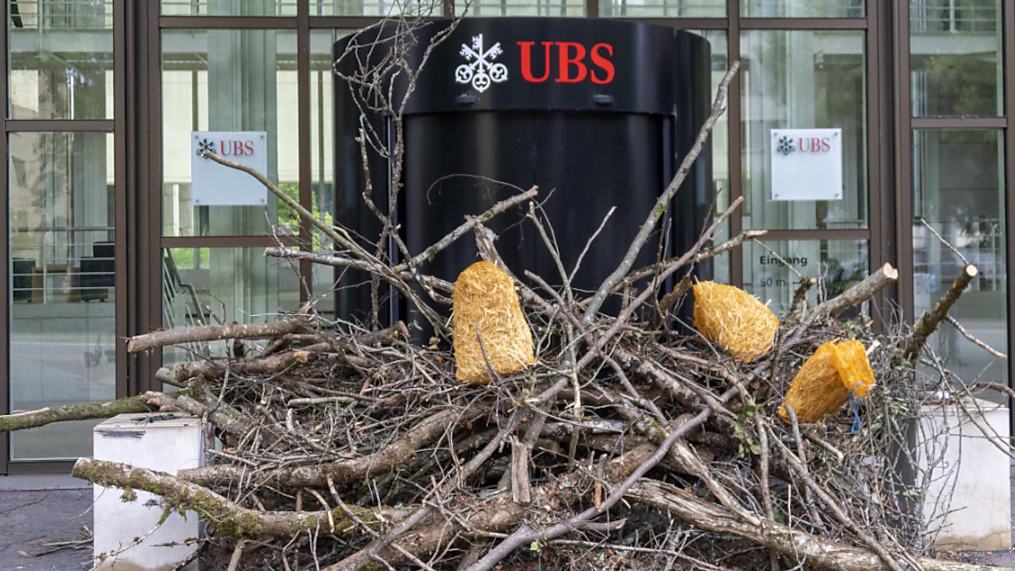 Banken: UBS wehrt sich gegen Klima-Vorwürfe