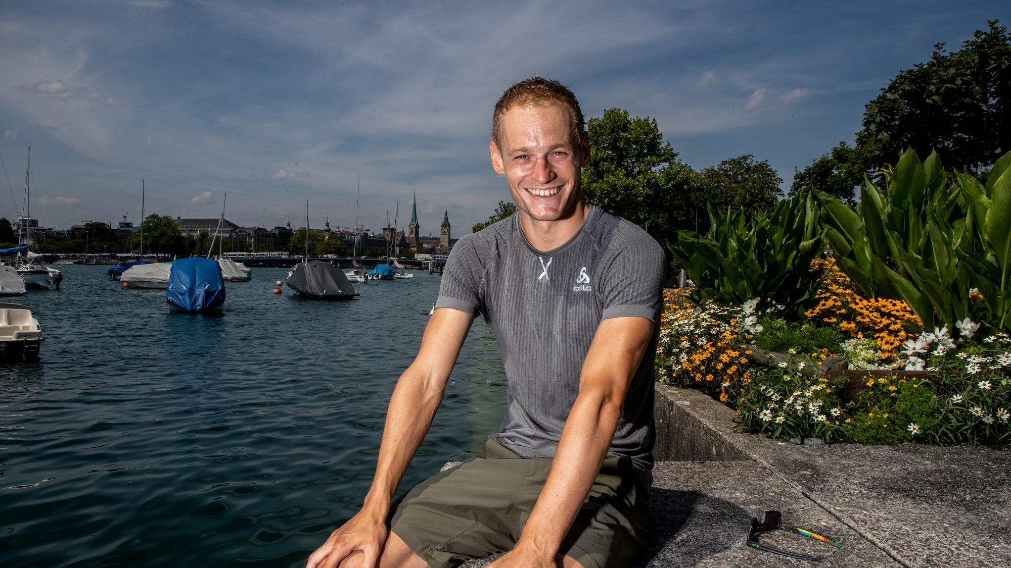 Letztes Mal Ironman in Zürich: König Van Berkel hat den Papi-Kick