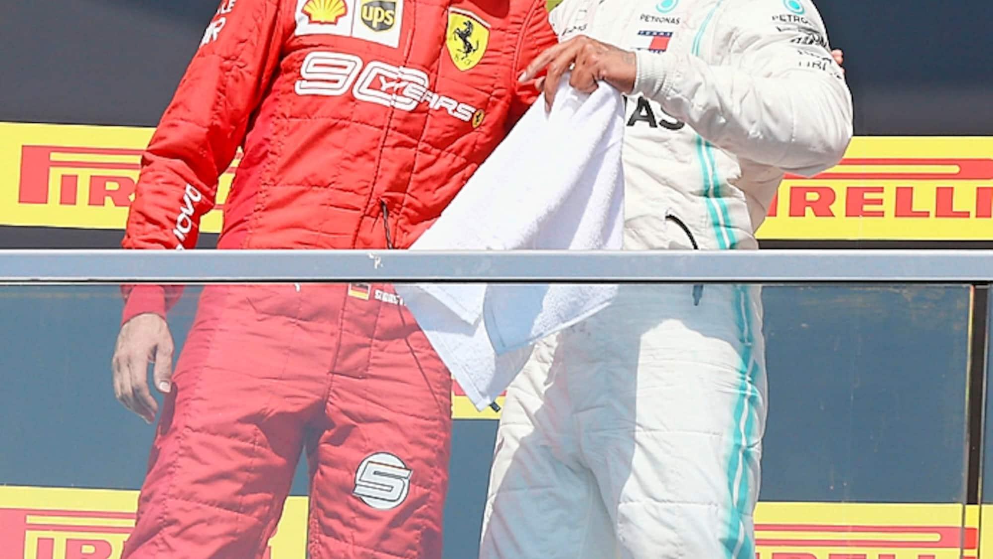 Hamilton hilft Kollegen: «Die Formel 1 braucht Vettel»