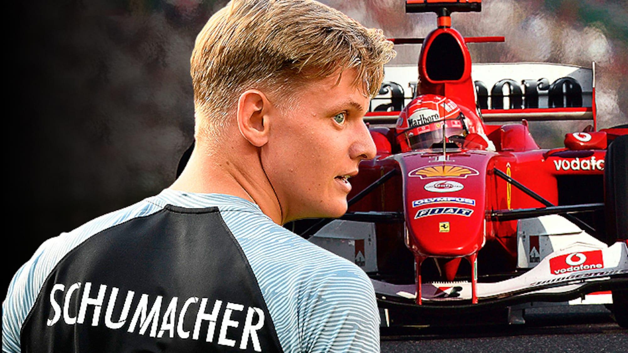 «Das ist emotional und speziell»: Schumi Junior fährt Papis letzten Weltmeister-Ferrari