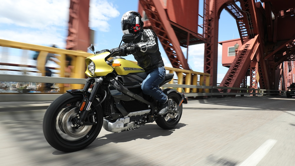 Already Driven: The Electric Harley-Davidson LiveWire