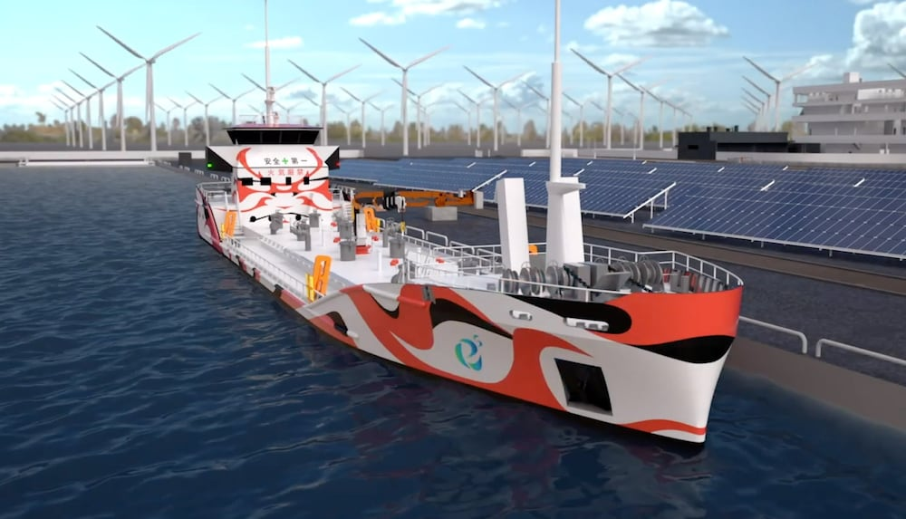 Japanisches Konsortium baut Tanker mit Elektroantrieb