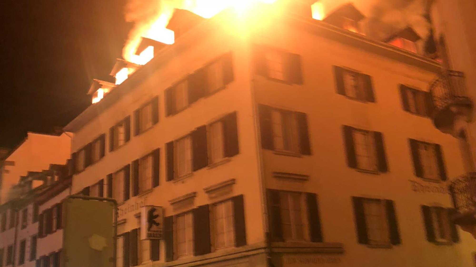 Verdacht auf Brandstiftung: Schweizer (35) nach Feuer in Kleinbasel verhaftet