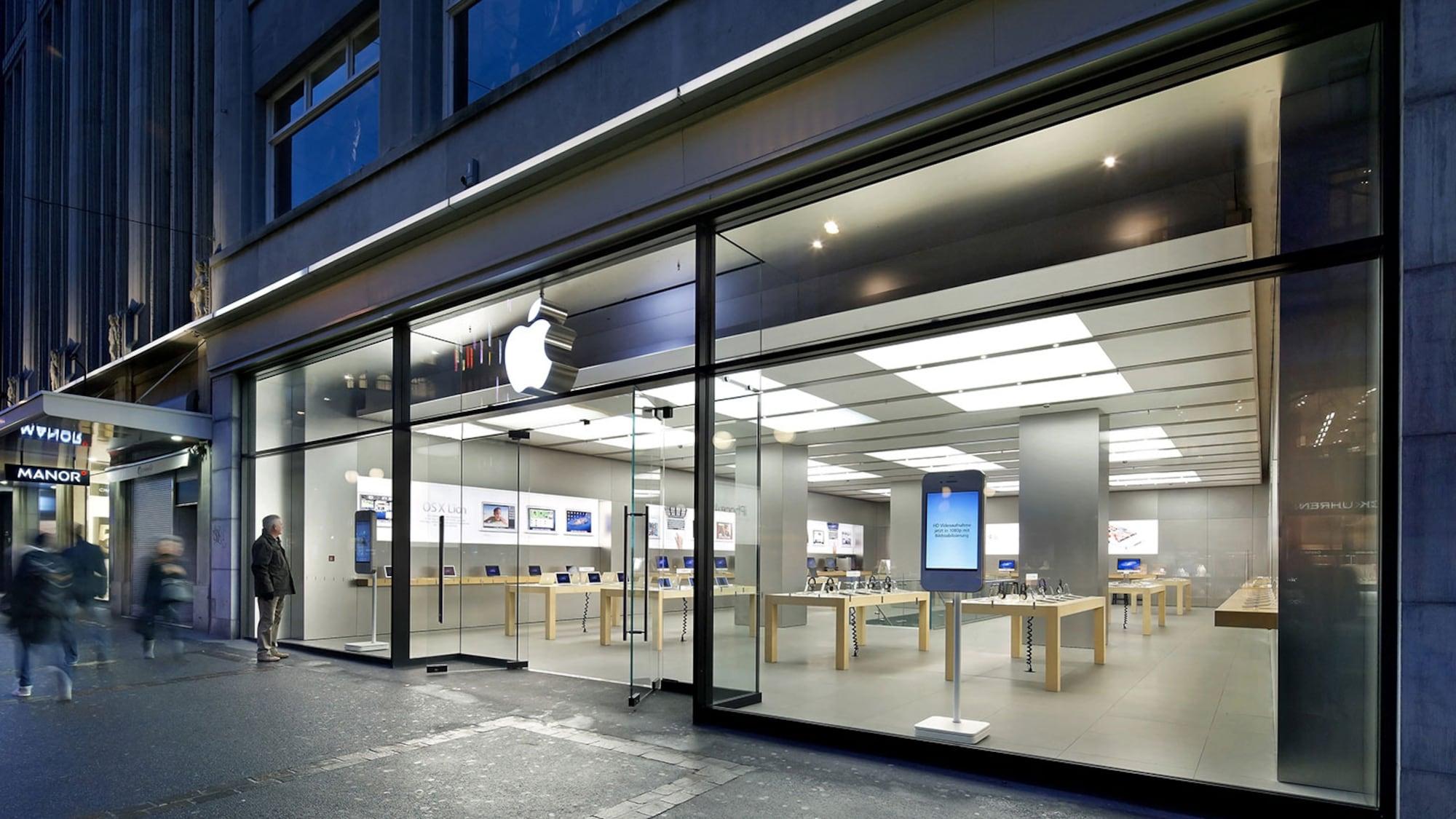 Wegen Zoff mit Vermieter?: Aus für Mega-Store von Apple in der Zürcher Bahnhofstrasse
