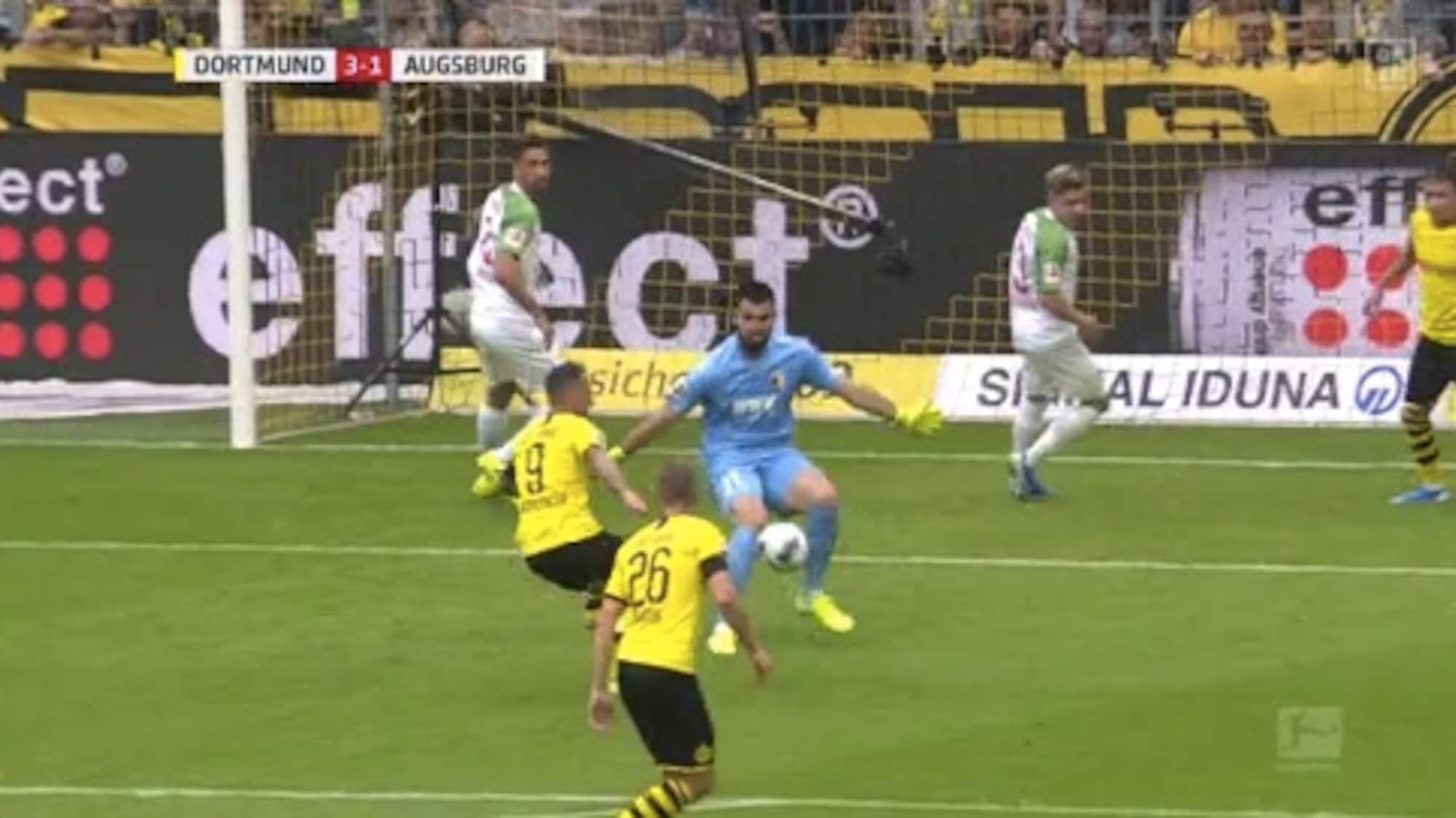 Favre startet mit Kanter-Sieg: Augsburg-Goalie floppt BVB zum Sieg!