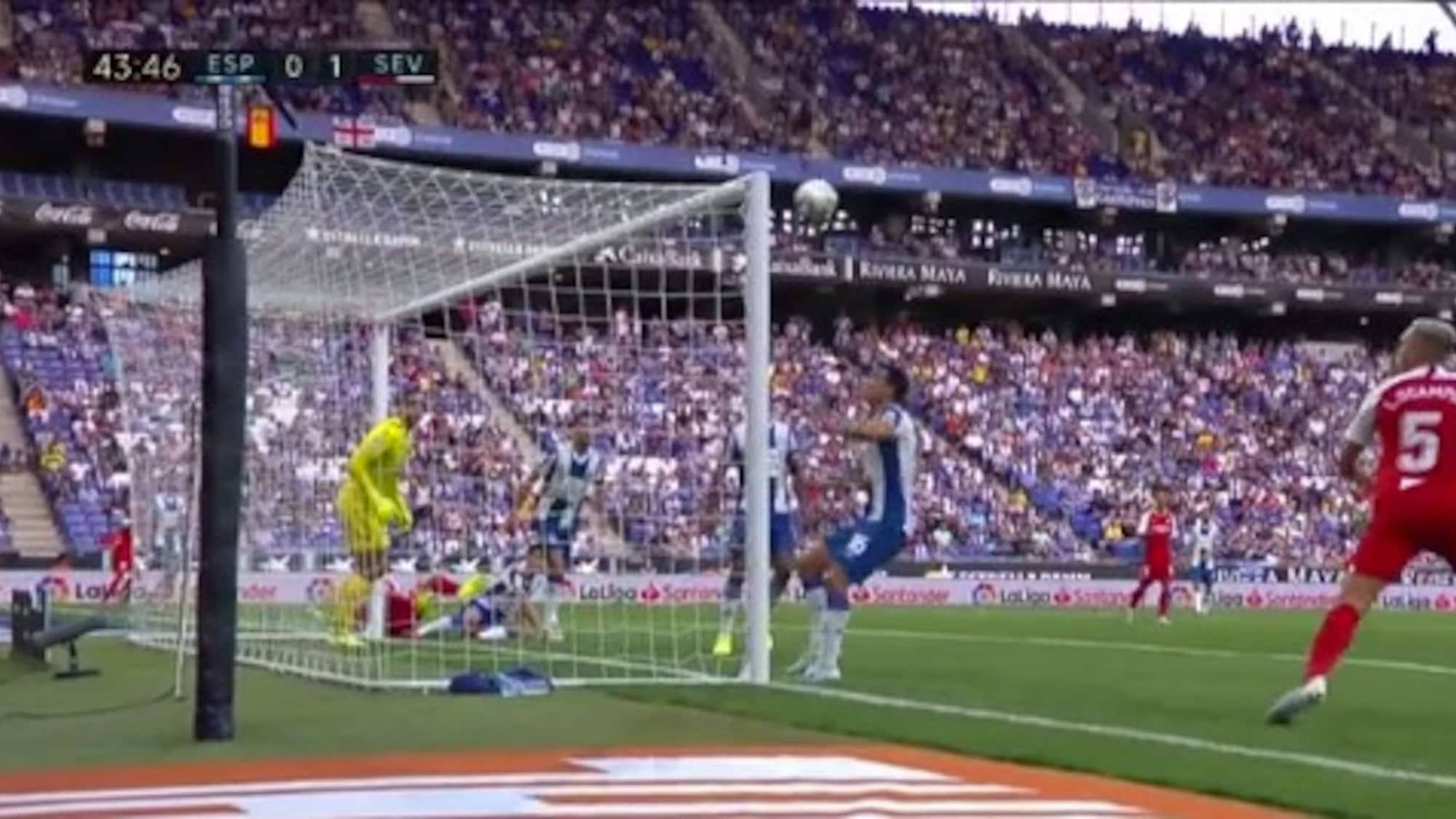 Gegen überfordertes Espanyol: So kurios bringt Reguilon Sevilla auf die Siegerstrasse