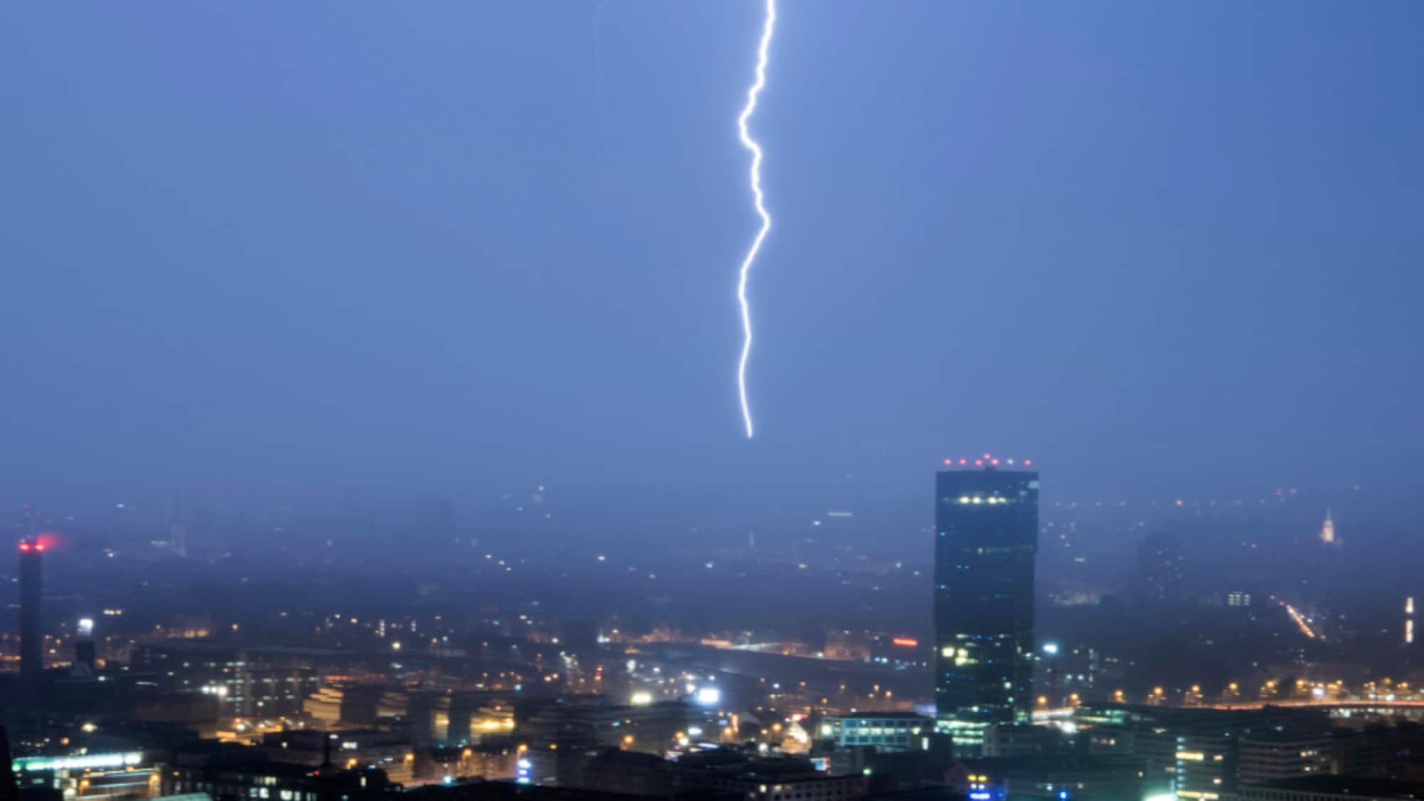 Wetter: Kräftige Gewitter und Sturm beenden Hitzewochenende