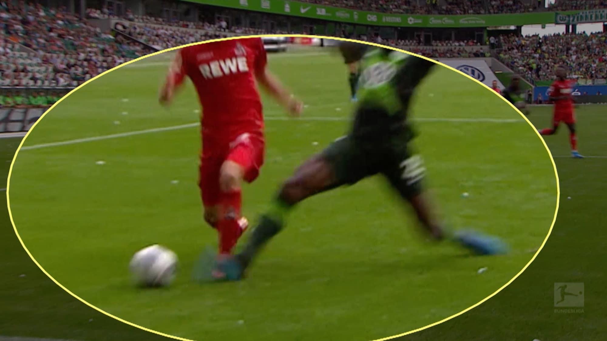 VAR schreitet nicht ein: Hier hätte Köln einen Penalty bekommen müssen