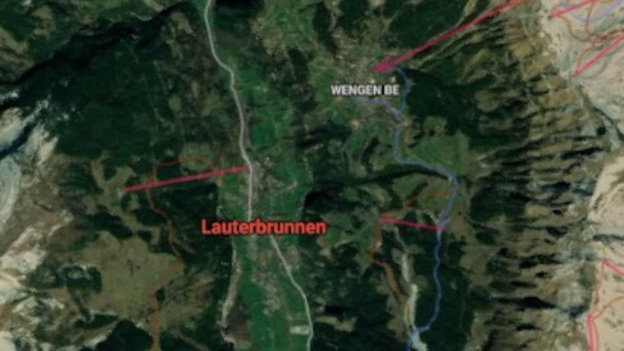 Seit einer Woche vermisst: Mountainbiker (†63) leblos im Wald in Lauterbrunnen aufgefunden
