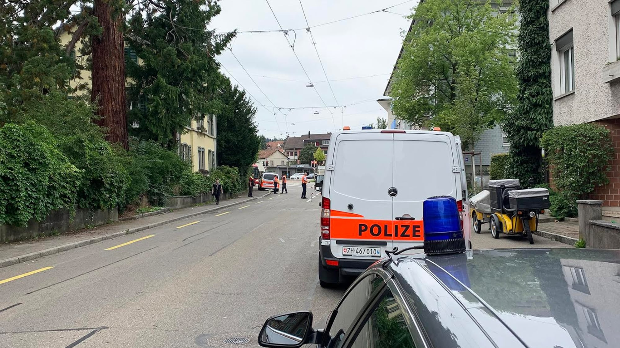 Unfall in Winterthur ZH: Seniorin (†82) von Lastwagen angefahren – tot