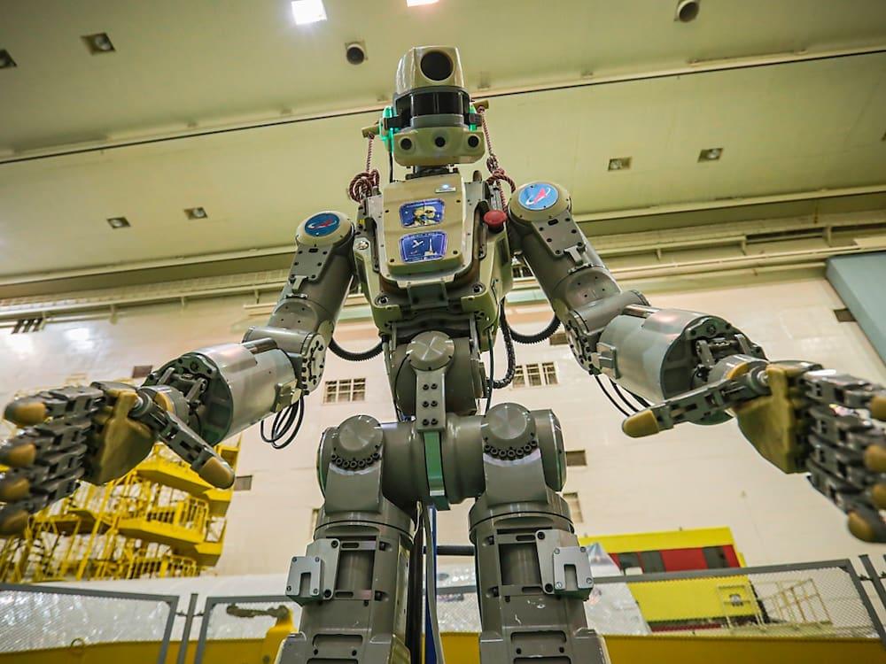 Andocken an ISS mit Roboter missglückt