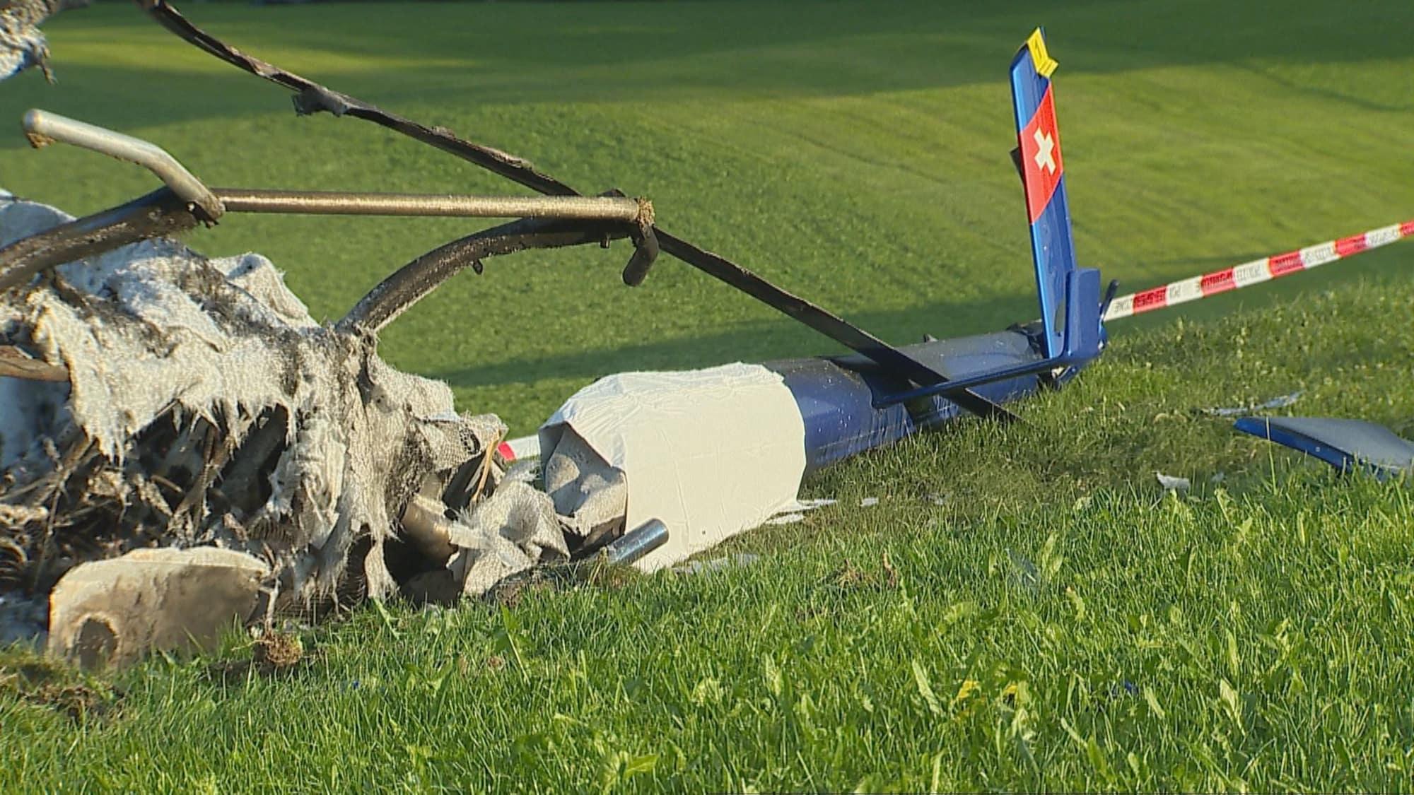 Helikopter-Absturz bei Herisau: Mann (†59) tot, Frau (56) schwer verletzt