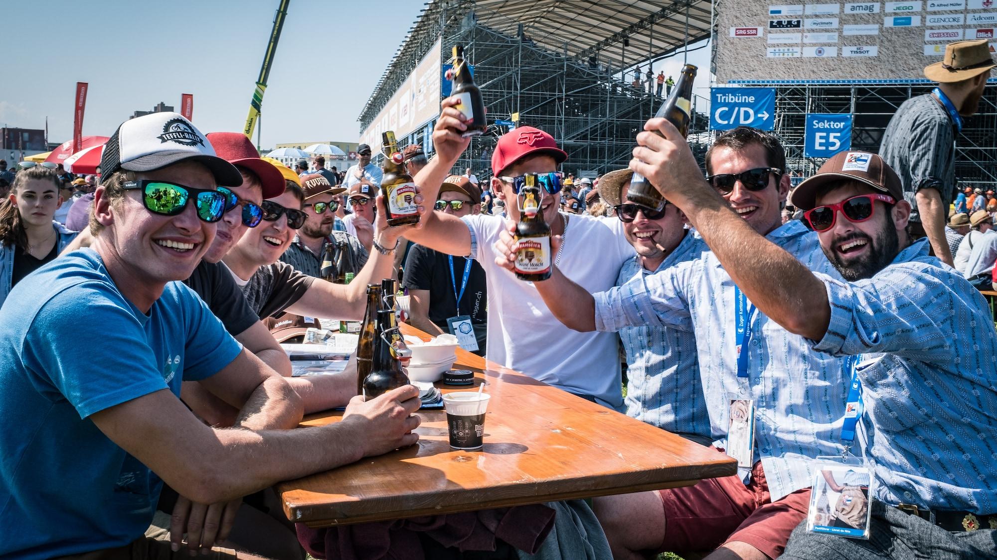 Heile Welt am Schwingfest: «Wir sind hier alle ein bisschen Bünzli»
