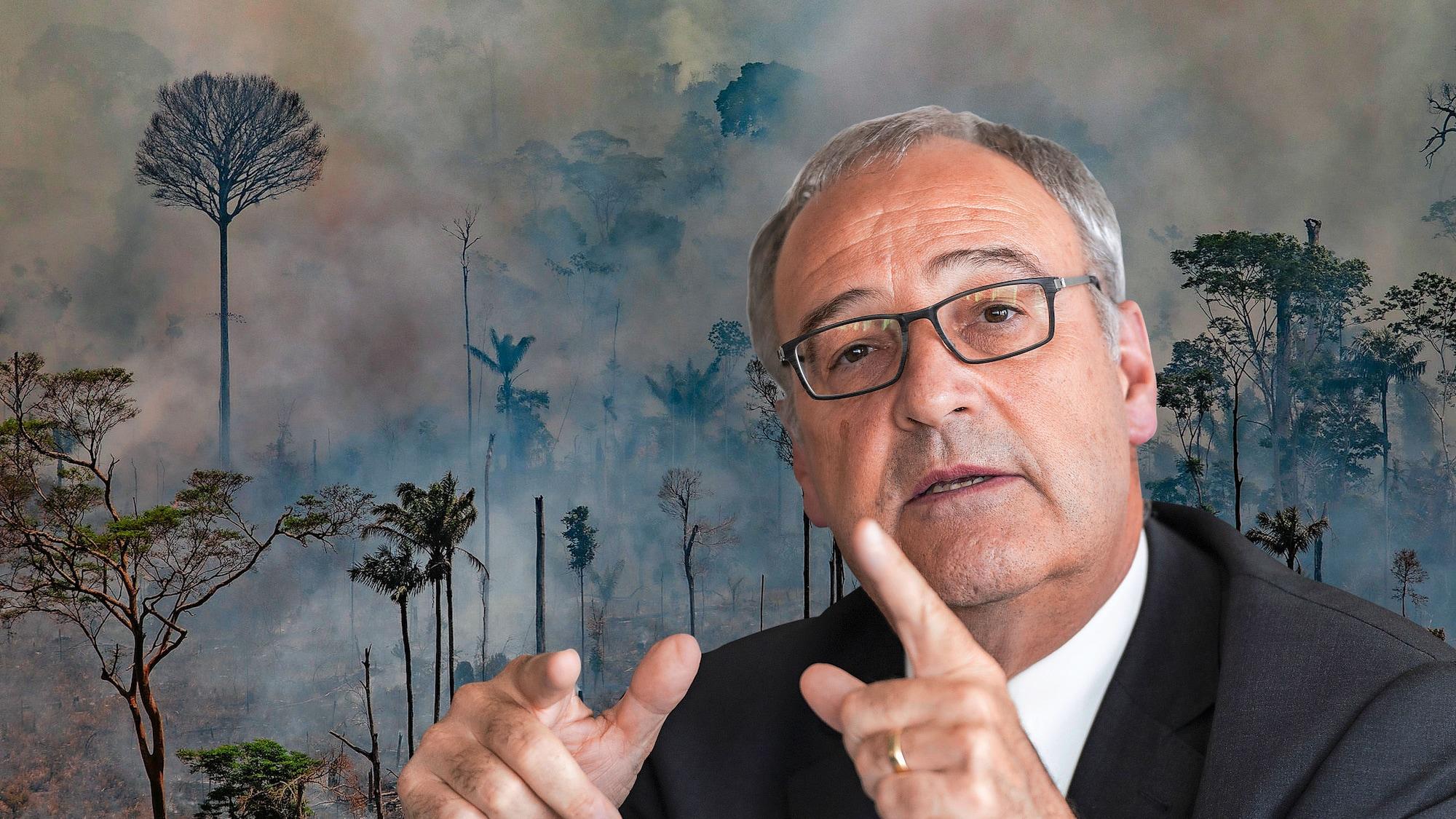 Mercosur-Deal trotz brennendem Amazonas: Parmelin spielt mit dem Feuer