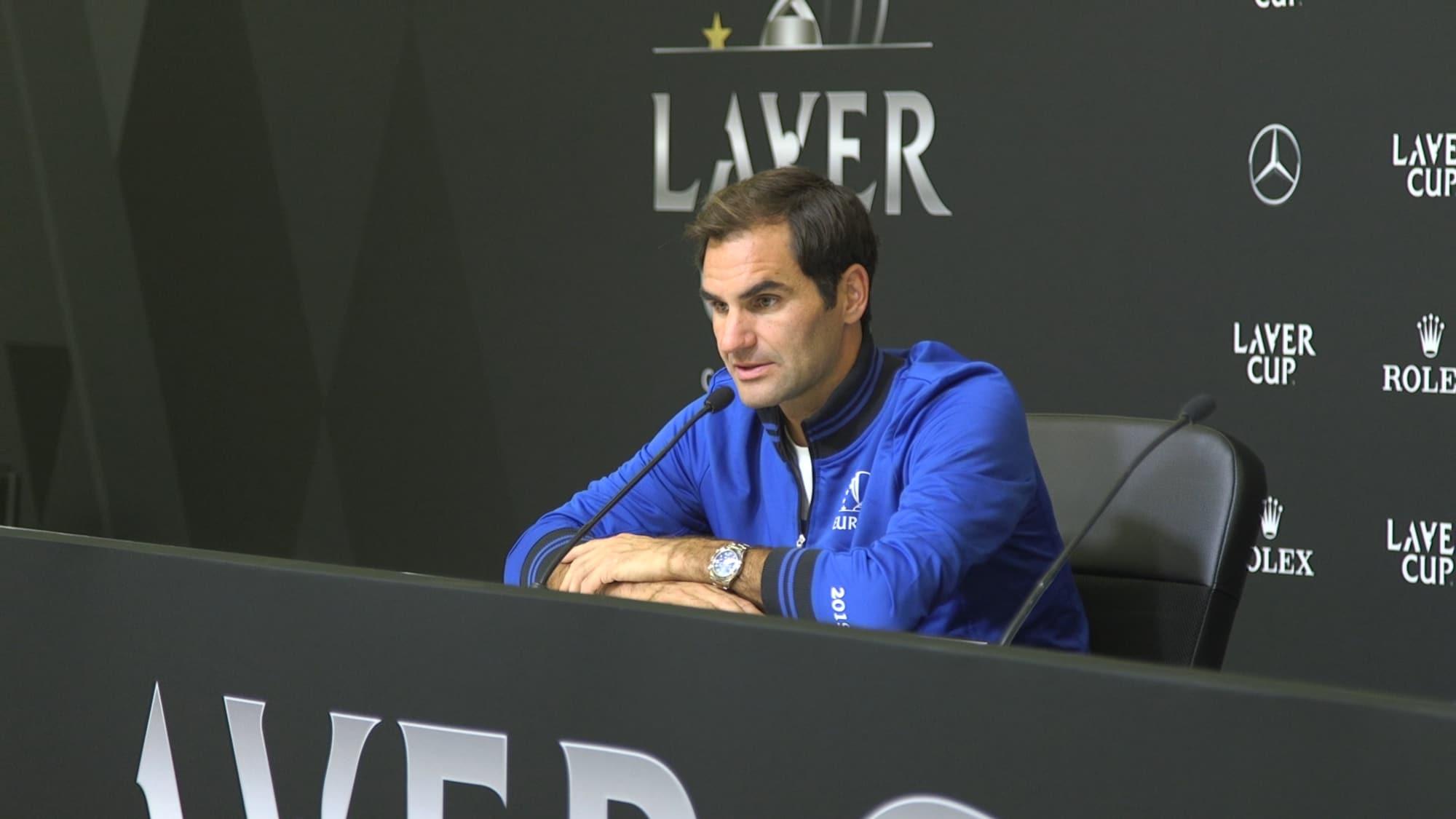 Federer nach Tag 1: «Du kannst die Taktik auf dem WC besprechen»
