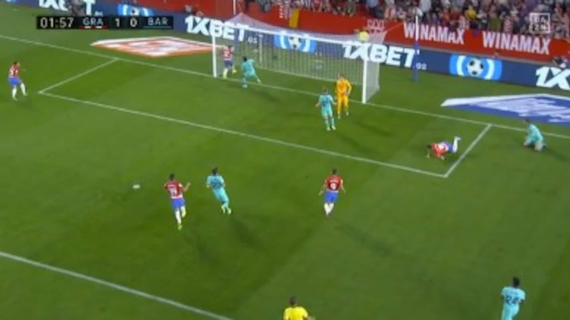 Aufsteiger schockt Barça: Hier geht Granada bereits nach einer Minute in Führung
