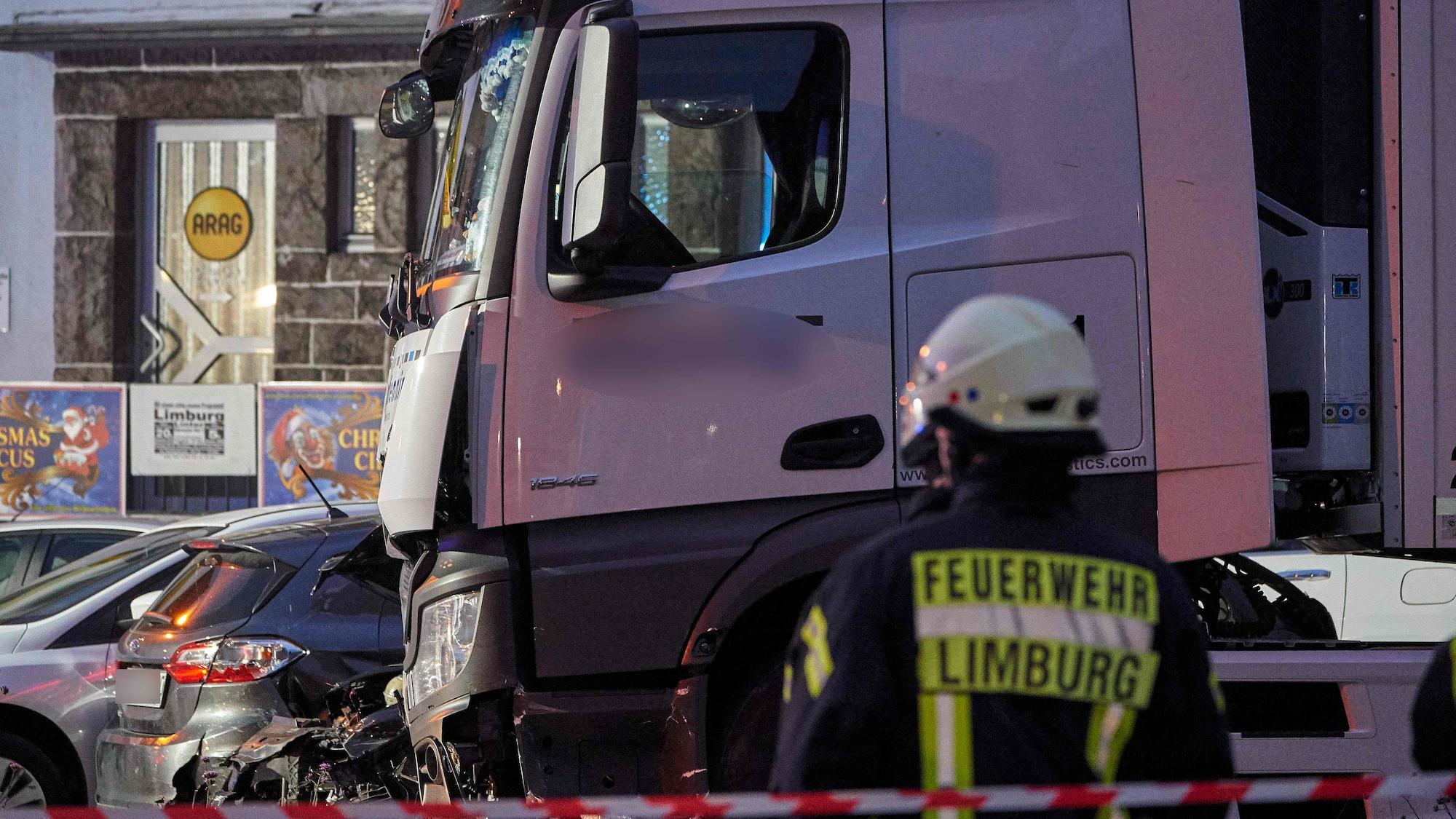 Syrer (32) verletzte neun Menschen: LKW-Amokfahrt in Limburg war kein Terroranschlag
