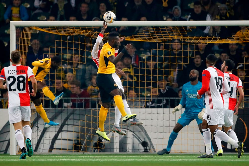 Europa League Souveraner Yb Sieg Gegen Feyenoord Rotterdam