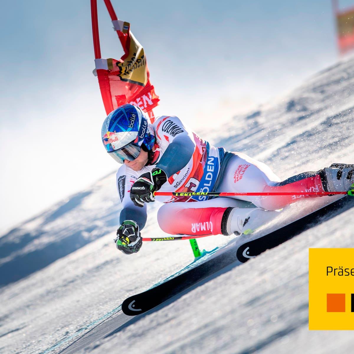 Ski Highlights Des Riesenslaloms Der Herren In Solden Blick