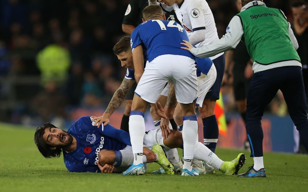 Premier League Horror Verletzung Bei Everton Tottenham