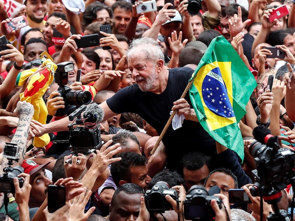 Stürmischer Empfang für brasilianischen Ex-Präsidenten Lula