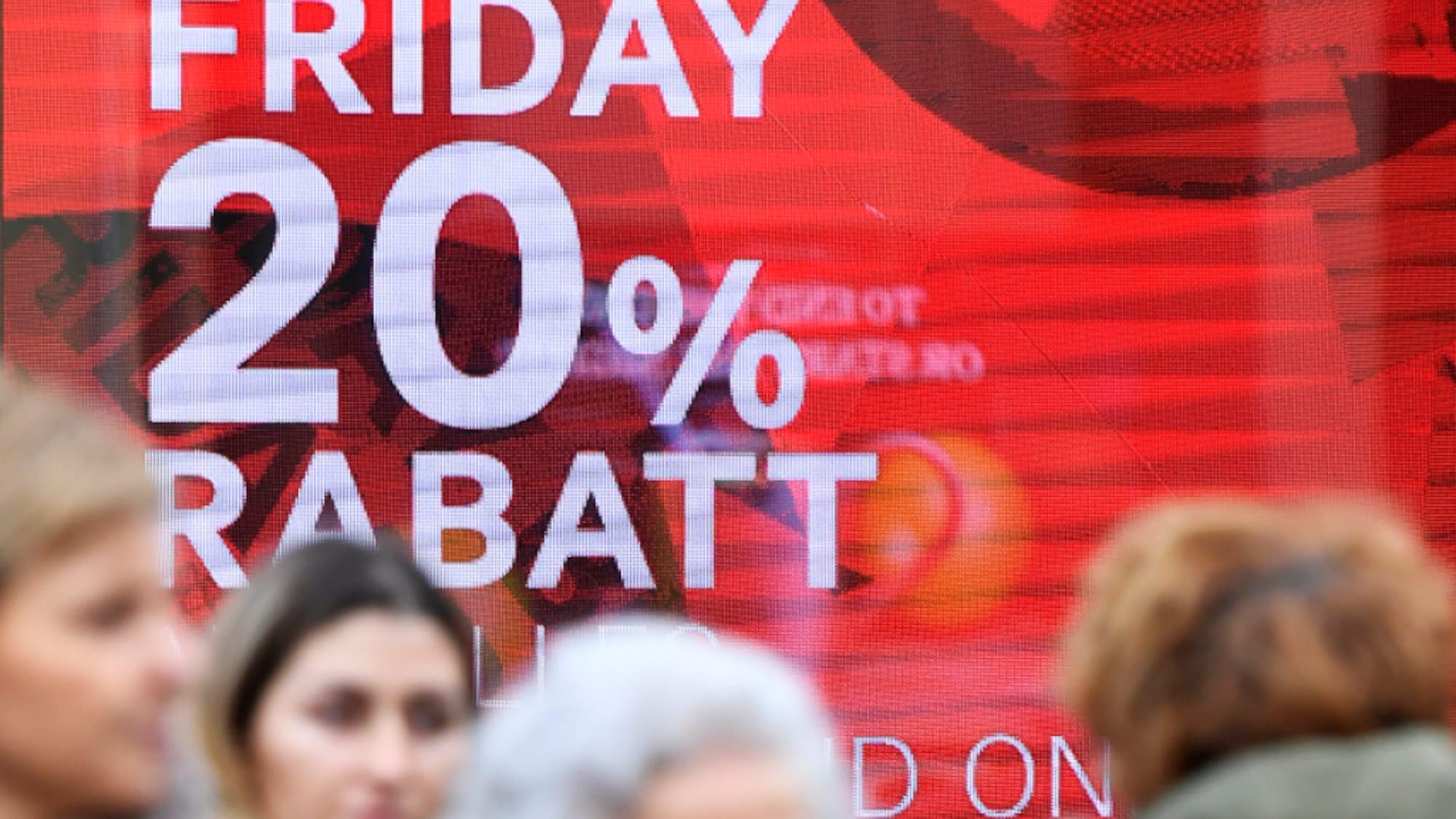 Detailhandel: Black-Friday-Shopper wollen günstiger einkaufen