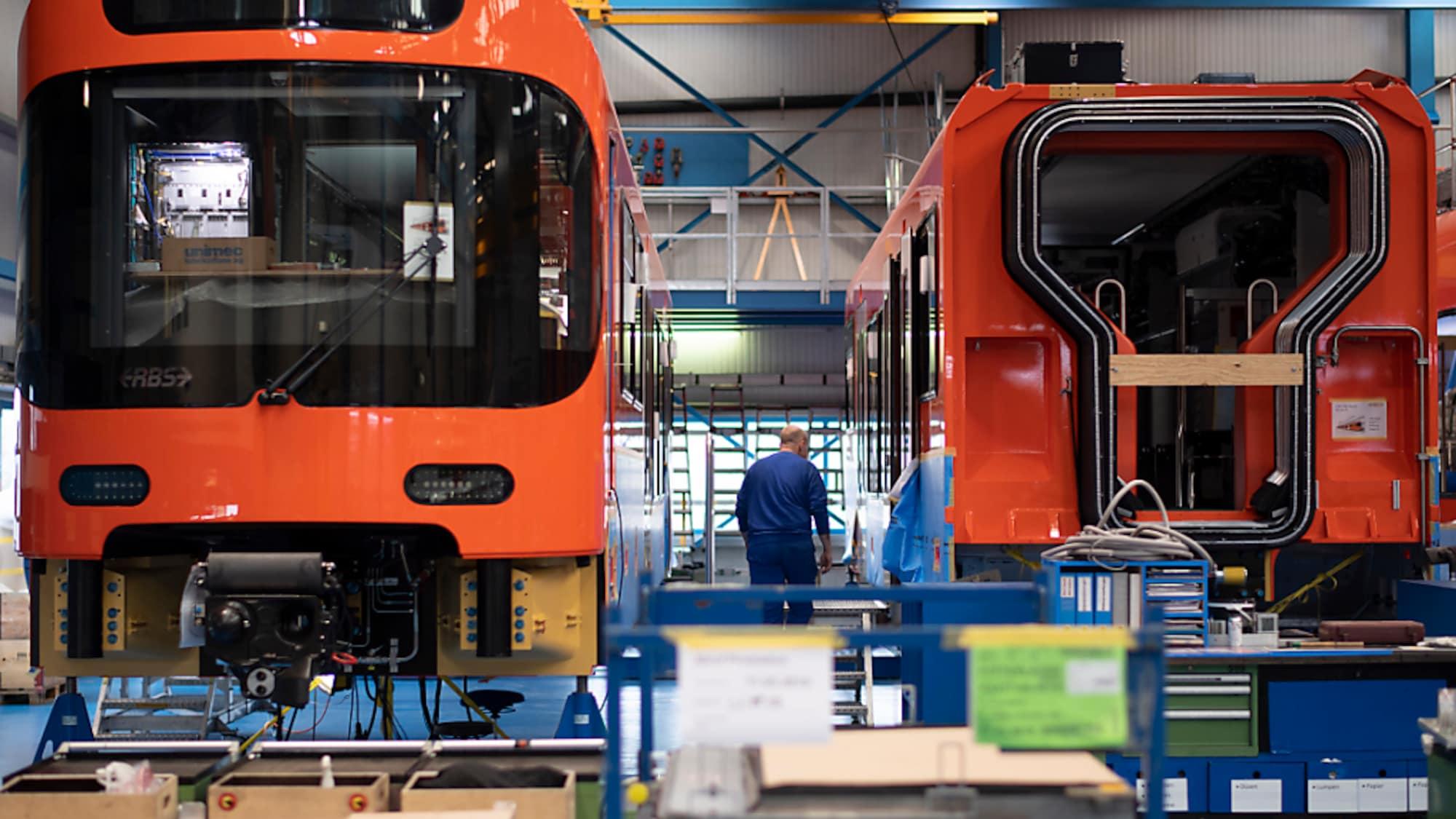 Maschinenindustrie: Stadler baut einen mit Wasserstoff betriebenen Zug für Kalifornien