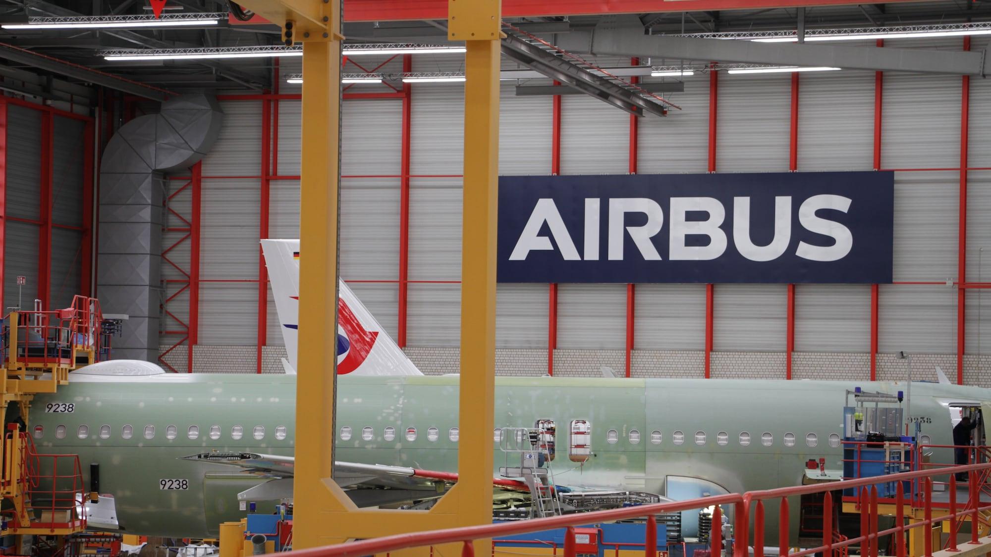 BLICK ins Airbus-Werk: Hier entsteht der erste A320 neo für die Swiss