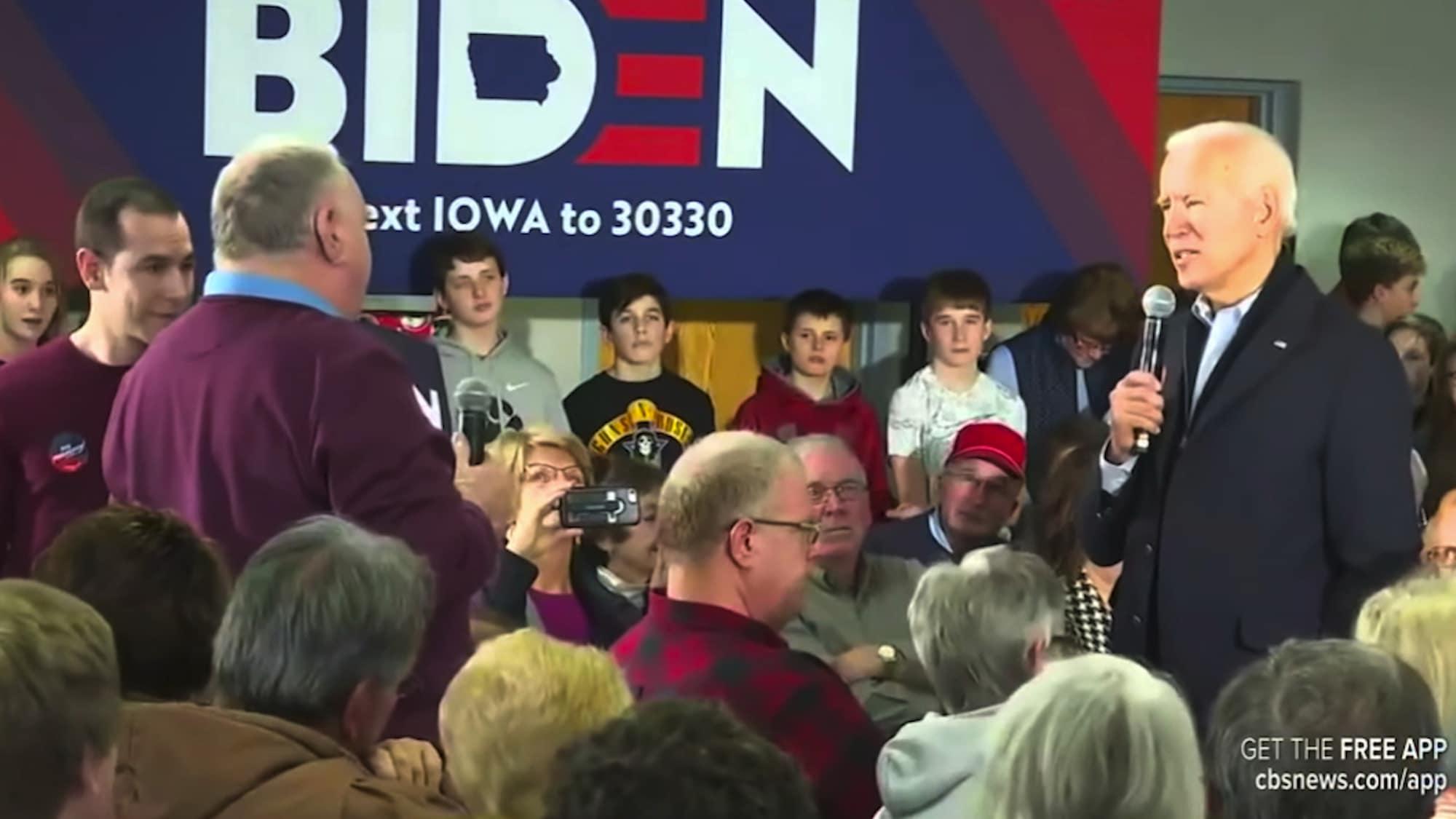 Joe Biden rastet aus: «Du bist ein verdammter Lügner»