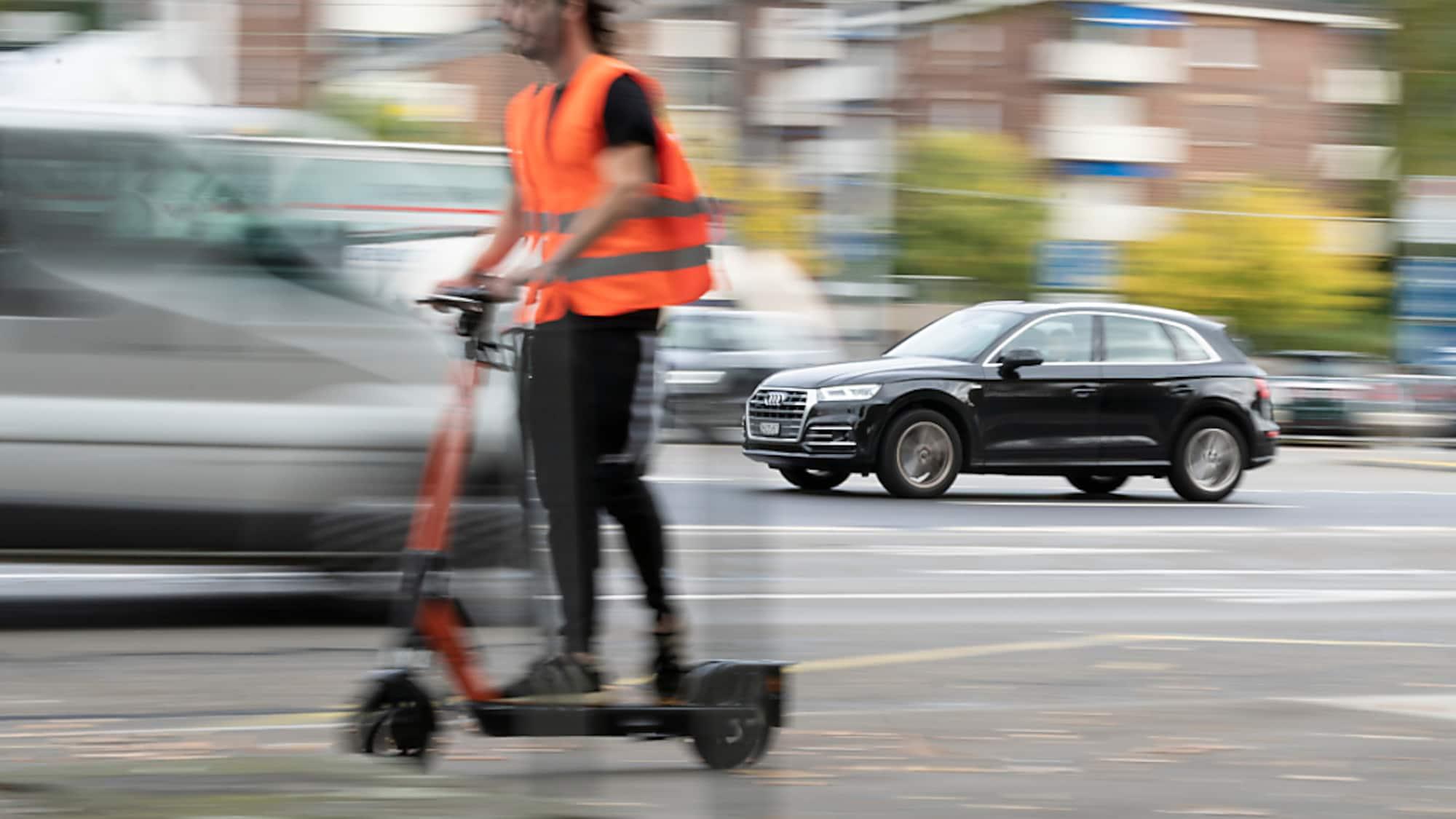 Mobilität: Gemischte Bilanz zu E-Trottinetts in Schweizer Städten