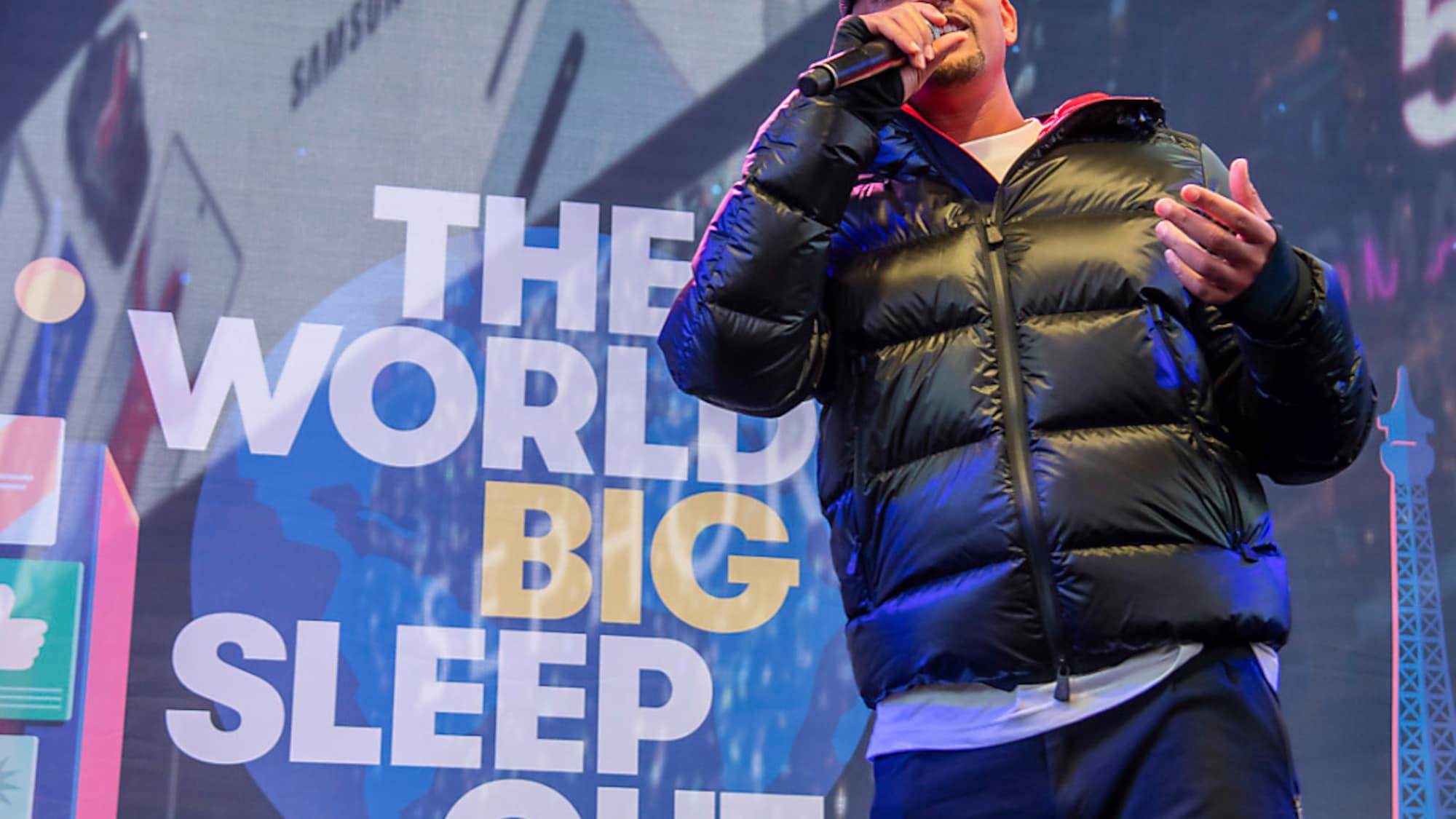 USA: Will Smith an Protestaktion gegen Obdachlosigkeit in New York